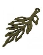 Подвеска металлическая Ветка. Цвет бронза