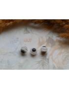 Бусины Глазки пластиковые прозрачные. 8 мм