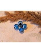 Бусины глазки голубые 10 мм