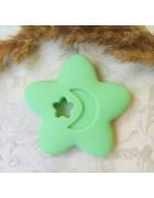 Грызунок прорезыватель Звезда светло-зеленая