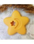 Грызунок прорезыватель Звезда желтая