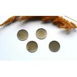 Основа для декоративных стеклянных колбочек колб02. Цвет бронза