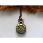 Часы Сойка-пересмешница. Цвет бронза
