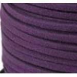 Шнур из искусственной замши темно-фиолетовый