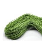 Шнур вощеный светло-зеленый