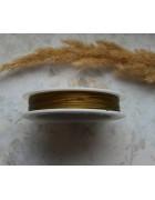Ювелирный тросик (ланка) светло-золотистый