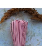 Сутажный шнур светло-розовый. 2.5 мм