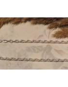 Цепочка с узором цвета серебро. 4.5*3 мм