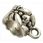 Бейл Бабочка 11.5* 6*8 мм. Цвет черненое серебро
