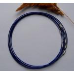 Чокер (основа для колье) темно-синий