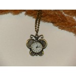 Часы на цепочке Бабочка