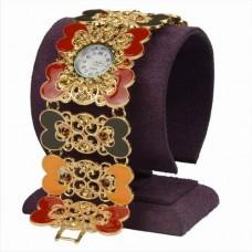 Часы наручные с эмалью