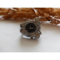 Кольцо-часы Бабочка