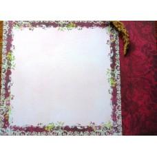 Бумага для скрапбукинга 2-сторонняя. 30.5*30.5 см