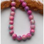 Стеклянные бусины цветные 10 мм