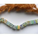 Стеклянные бусины бусины миллефиори прозрачные 8 мм