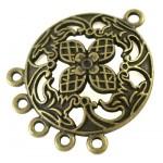 Коннектор цвета античной бронзы 30 мм