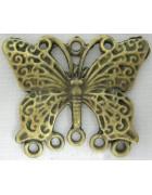 Коннектор Бабочка 25 мм. Цвет бронза