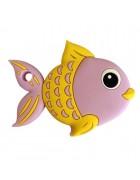 Грызунок прорезыватель Рыбка сиреневая 92*70*10 мм