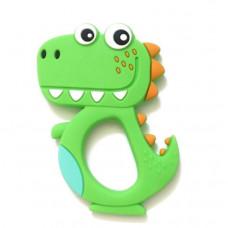 Грызунок прорезыватель Динозавр зеленый