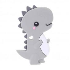 Грызунок прорезыватель Динозавр серый