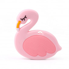 Грызунок прорезыватель Фламинго розовый