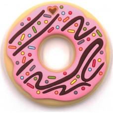 Грызунок прорезыватель Пончик с розовой глазурью