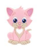 Грызунок прорезыватель Котик розовый