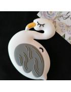 Грызунок прорезыватель Фламинго белый