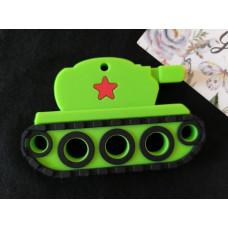 Грызунок прорезыватель Танк зеленый
