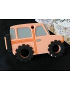 Грызунок прорезыватель Машина оранжевая