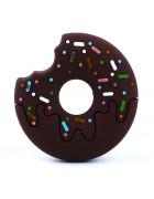 Грызунок прорезыватель Пончик коричневый