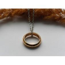 Кольцо всевластия из Властелина колец на цепочке