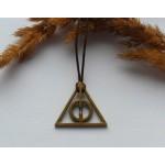 Подвески Дары смерти из Гарри Поттера. Цвет бронза