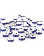 Рондели синие 8 мм