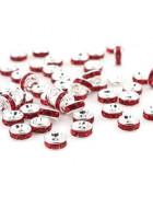 Рондели красные 8 мм