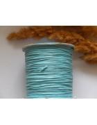 Шнур вощеный голубой 1 мм