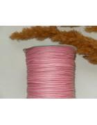 Шнур вощеный розовый