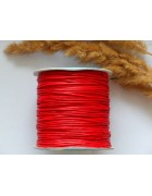 Шнур вощеный красный