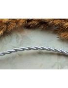 Шнур витой белый 4 мм