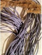 Шнур нейлоновый серый 2 мм
