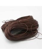 Шнур вощеный коричневый