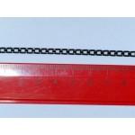 Цепочка 5.5*3.5 мм. Цвет черный никель