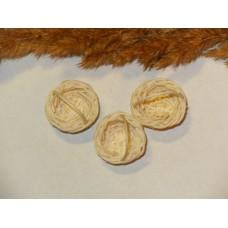 Миниатюрные плетенные корзинки (дерево). 2 см