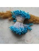 Тычинки двусторонние голубые. 10 шт
