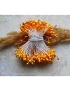 Тычинки двусторонние желтые. 10 шт