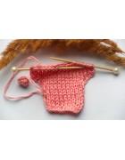 """Декоративный элемент """"Рубашка"""" розовая"""