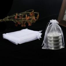 Пакеты подарочные белые 18*13 см