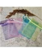 Пакеты подарочные из органзы. 9*7 см