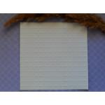 Тиснение. Акварельная бумага. 14*14 см